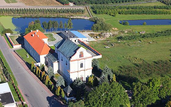 Fotografia Parafii Św. Jana Chrzciciela w Łęczeszycach